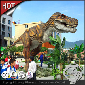Fantastic carnival equipment robotic dinosaur