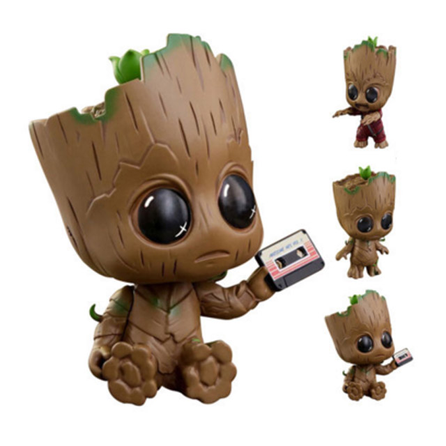 Polyresin Bambino Groot Bobble Head