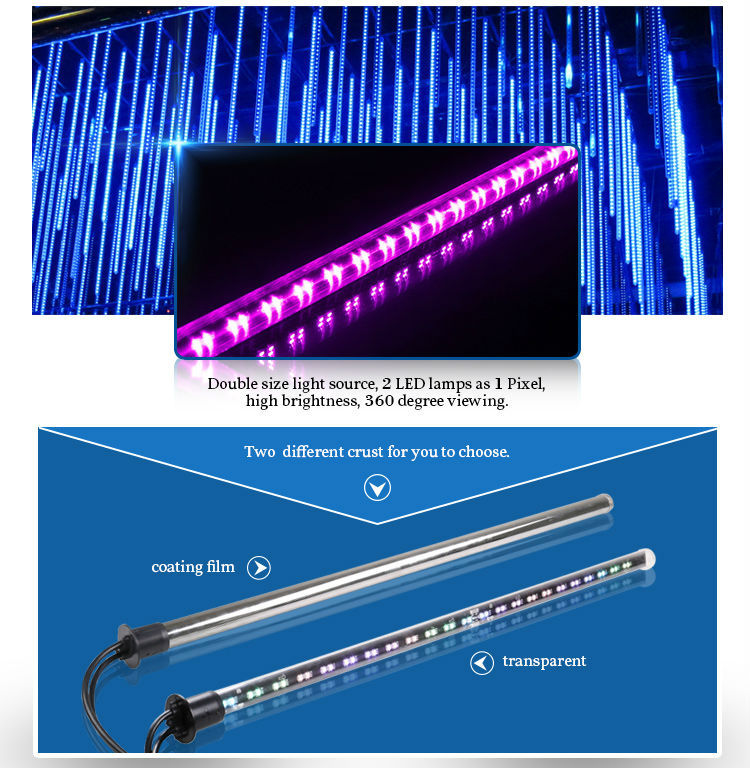 led crystal ceiling falling tube light falling star led christmas lights - Tube Christmas Lights