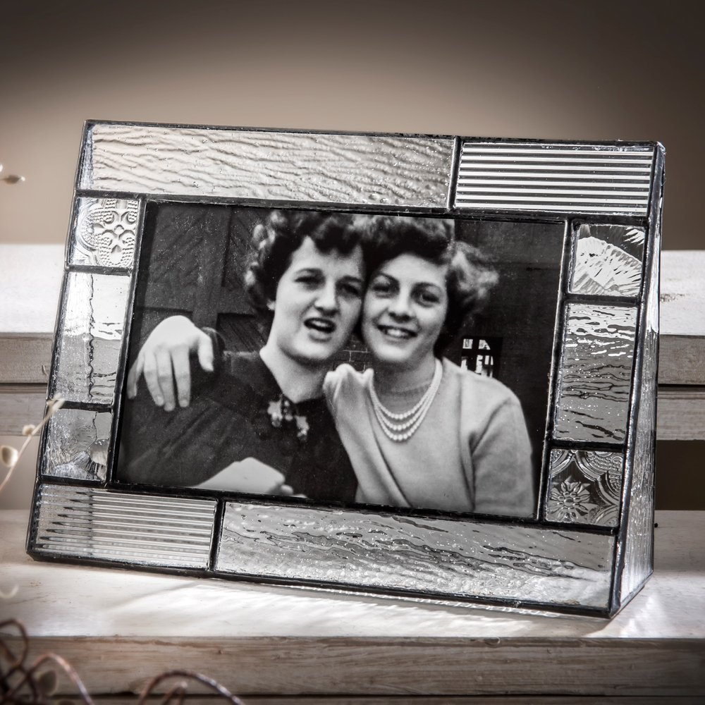 J Devlin Pic 310-46H Clear Glass Picture Frame Tabletop 4 x 6 Horizontal Photo