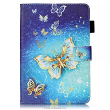 Wholesales 3D Color Printing Tablet Leather Wallet Case Protector For Ipad And For Samsung Tab