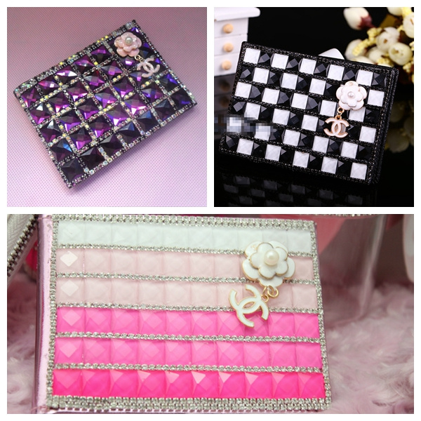 Подарок роскоши алмаза бриллиант автомобиль лицензии лицензия набор покрытые алмазной набор карт двойной C цветок порошок продукты
