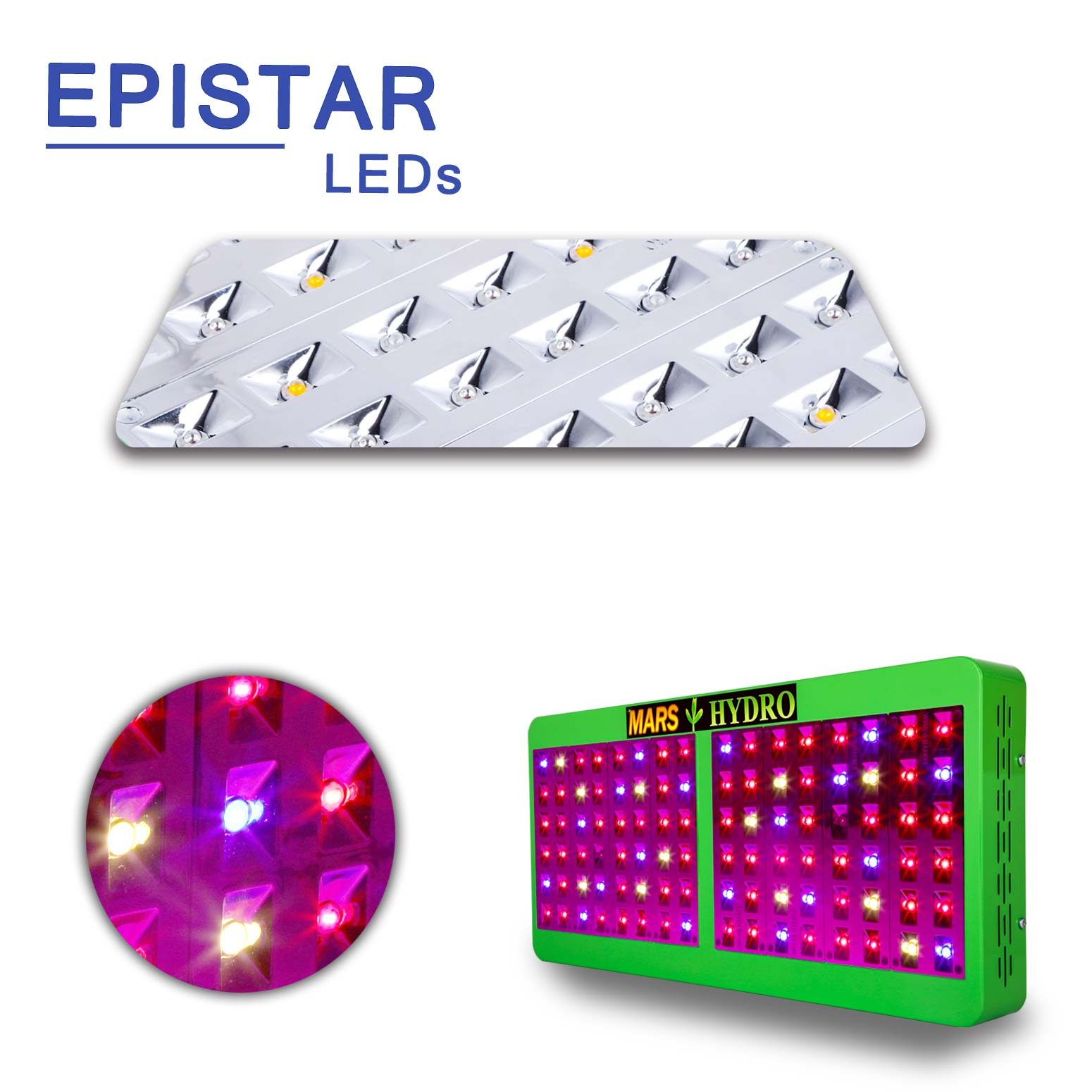 Free shipping hydroponic indoor Medical Plants ETL / CE Mars Reflector veg/bloom switch grow light