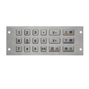 Hot selling keypad 6x3 18 keys programmable-usb keypad with high quality