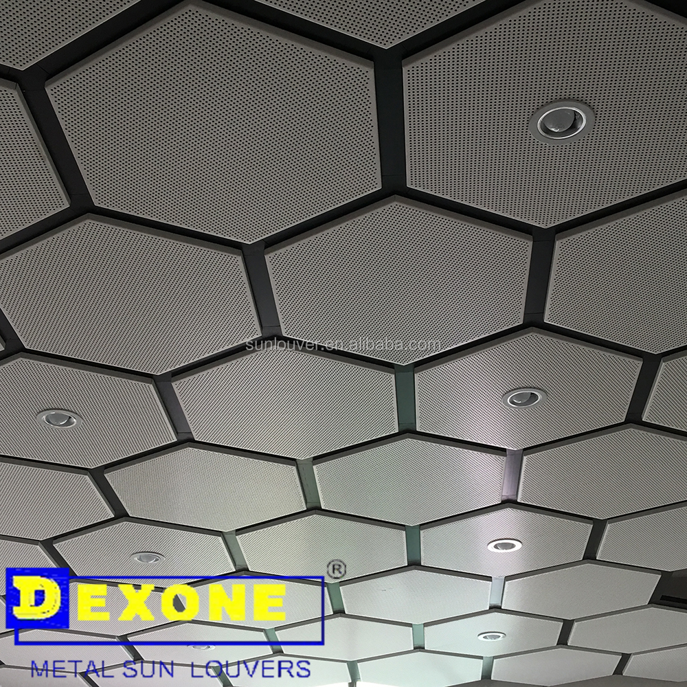 Anti Bacterial aluminum ceiling for hospital