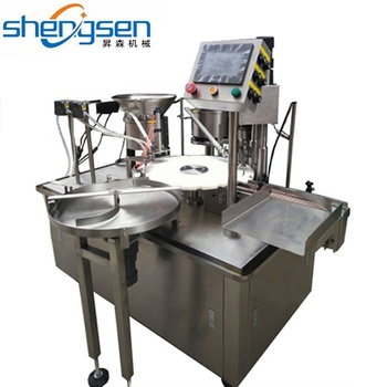 Medical Industry Dropper Bottle Filling Capping Machine