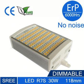 2015 newest high lumen 30w 118mm r7s led light led r7s for R7s 150w led