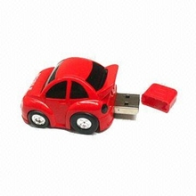 gift pvc cool car shape usb flash drive /USB memory stick