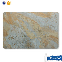 marble design leather material placemats for dining table decoration