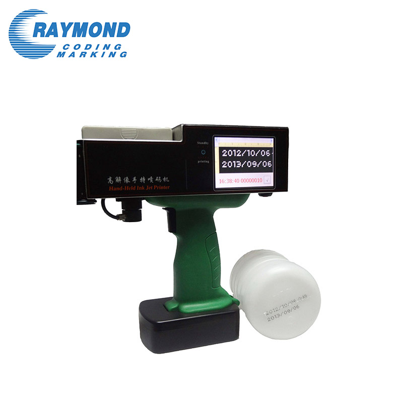 New condition cheap handheld ink-jet printing machine for water bottle label printer
