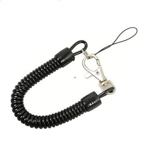 China Wholesale Retractable Plastic Fishing Tool Coil Safety Lanyard