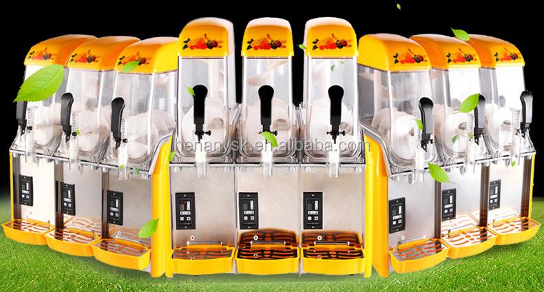 X-360 Newest 3 Tank Commercial China Cheap Ice Slush Machine Juicer Dispenser