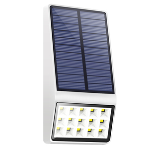 15 Leds Automatic Outside Wall Mounted Solar Garden Lights