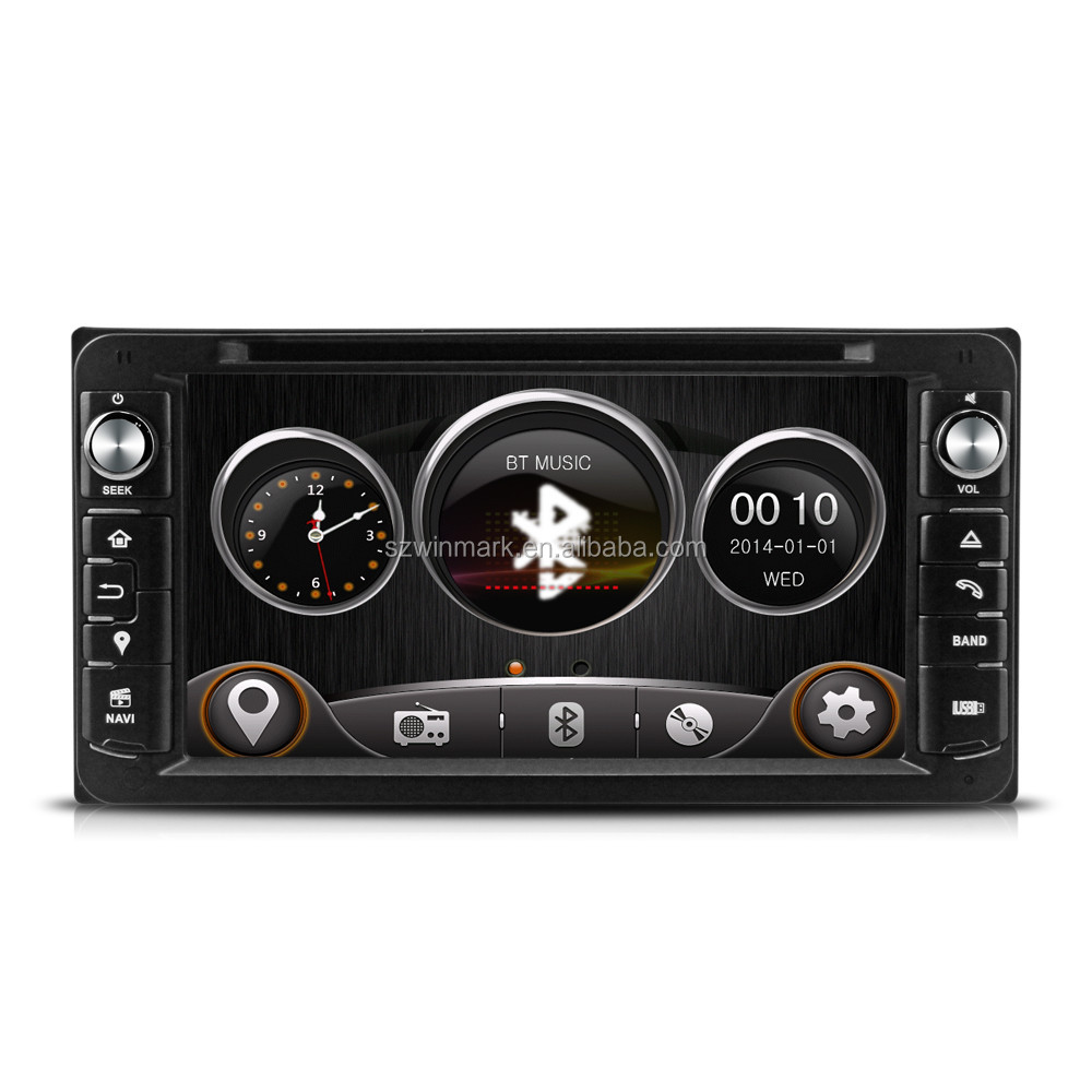 6.95Inch 2Din Universal <strong>Toyota</strong> Car DVD GPS For Camry <strong>Corolla</strong> Hilux Prado Hiace RAV4 DK6903