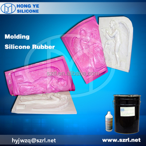 Two Parts Silicone Rubber Putty for Resin Mold