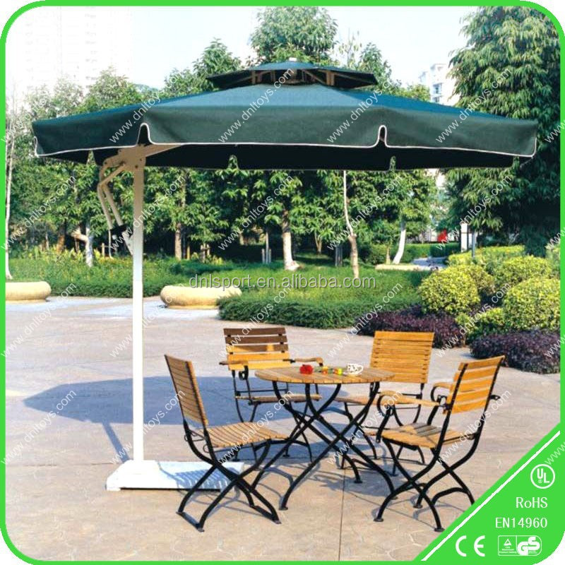 strong garden furniture set with umbrella