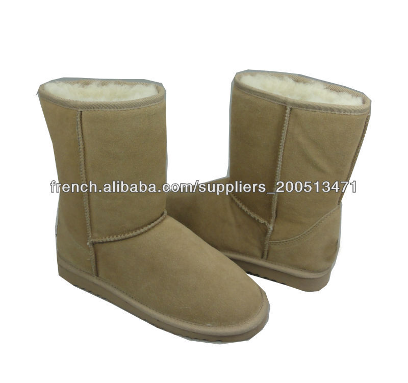 chaussure bottes de moutons pour femme cheville doublure. Black Bedroom Furniture Sets. Home Design Ideas