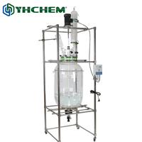 200L Pilot batch reactor, made by high quality borosilicate glass and stainless steel