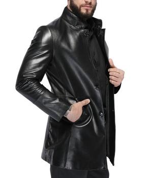 foto cappotto nero made cina