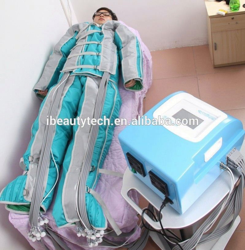 air presotherapy and infrared/pressotherapy lymph drainage/far infrared fat burning machine