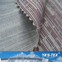 Free Samples PU Coated Fabric Waterproof Printed Nylon Ripstop Fabric For Raincoat