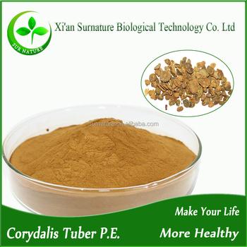 Rhizoma corydalis tuber extracts tetrahydropalmatine Yanhusuo extracts