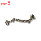 Dog chew rope is by professional manufacturer