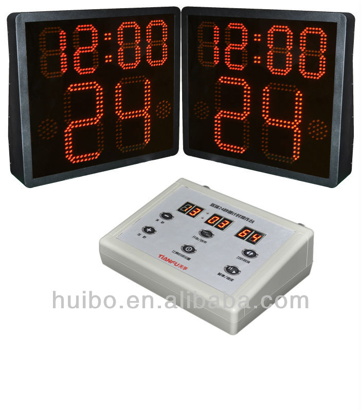 New design LED wireless basketball shot clocks and controller