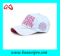 Latest design headgear branded sport baseball cap custom made