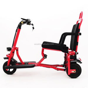 Powered electric mobility e- scooter for the aged