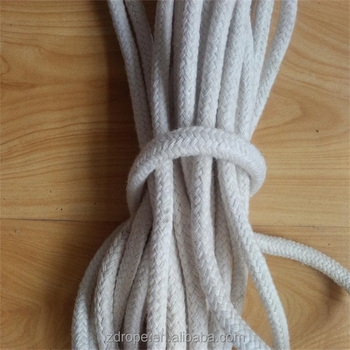 16 Strand Cotton Braided Ropes Cotton Clothesline Cotton Rope For