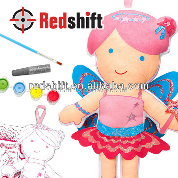 Coloring toy Color your doll Fairy en71 OEM diy toy