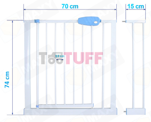 15 cm Extensions With Child Baby Pet Safety Fence Gate