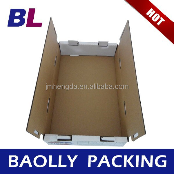 Professional Corrugated Boxes, WAX DIPPED CARTON BOX BL-21