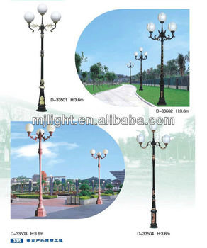 Chinese Garden Lighting Pole Light / Landscape Lamp