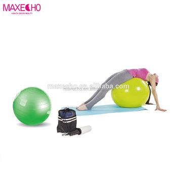MAXECHO pelota de ejercicio-Anti-explosión Bola de Yoga equilibrio bola  Pilates para la f4eeeda638ab