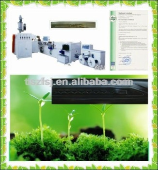 ZFSJ agriculture melt flow drip irrigation plastic tape making machine