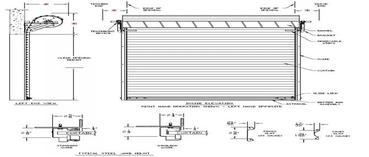 product-Seacurity Safety Stainless Steel Roller Shutter Door For Commercial-Zhongtai-img-1