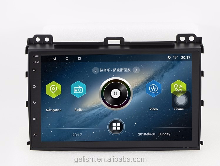 Android Touch Screen Car Dvd Payer For Toyota Land Cruiser