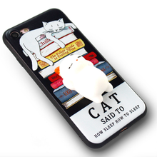 OEM ODM Factoy China Cute Squishy 3D Cat Soft Cute Phone Case For Oppo A53t/Mirrior 7/A59/F1s/R9/F1 Plus/R9S
