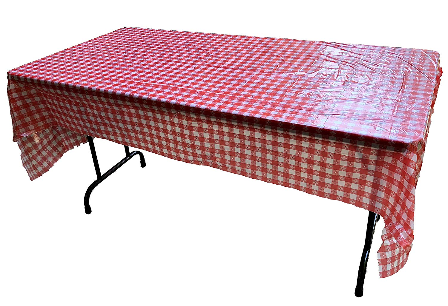 Embossed Pattern Stretch To Fit 3 Pc Vinyl Picnic Table Cover Fits 6