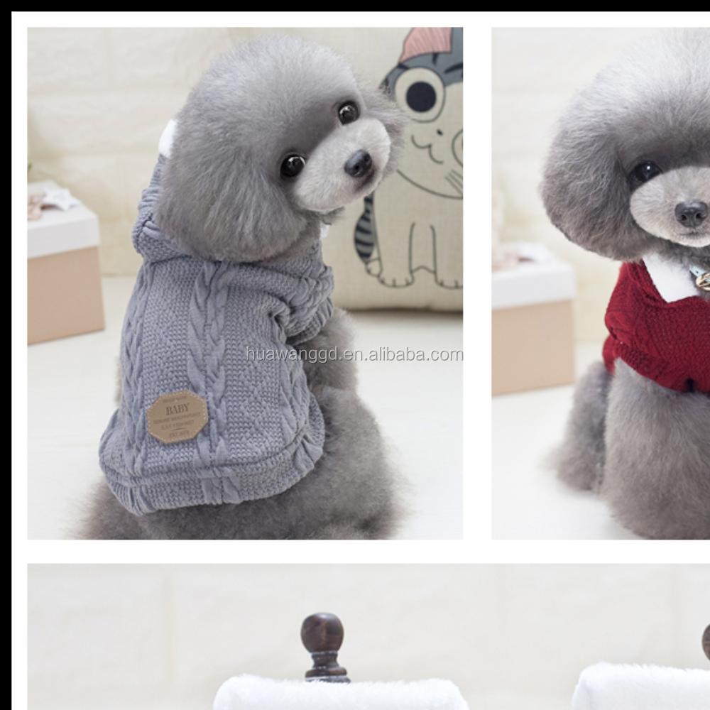 Catálogo de fabricantes de Suéter De Perro Pequeño Patrón De Punto ...