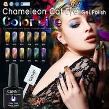 51024 CANNI Chameleon Cat Eye Gel Polish Nail Art Salon Recommend 7.3ml Soak off UV/LED Magnetic Color Change UV Gel Nail Polish