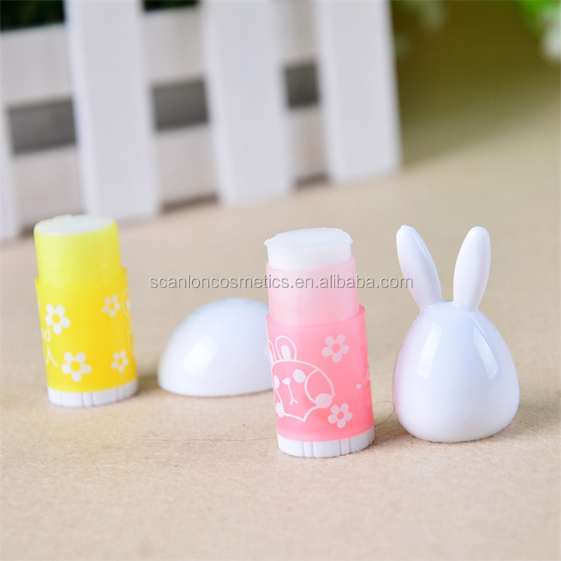 Femal cute lip balm organic lip balm longer moisturizing