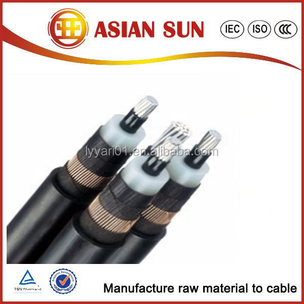 Wooden-steel drums packing electrical power cable
