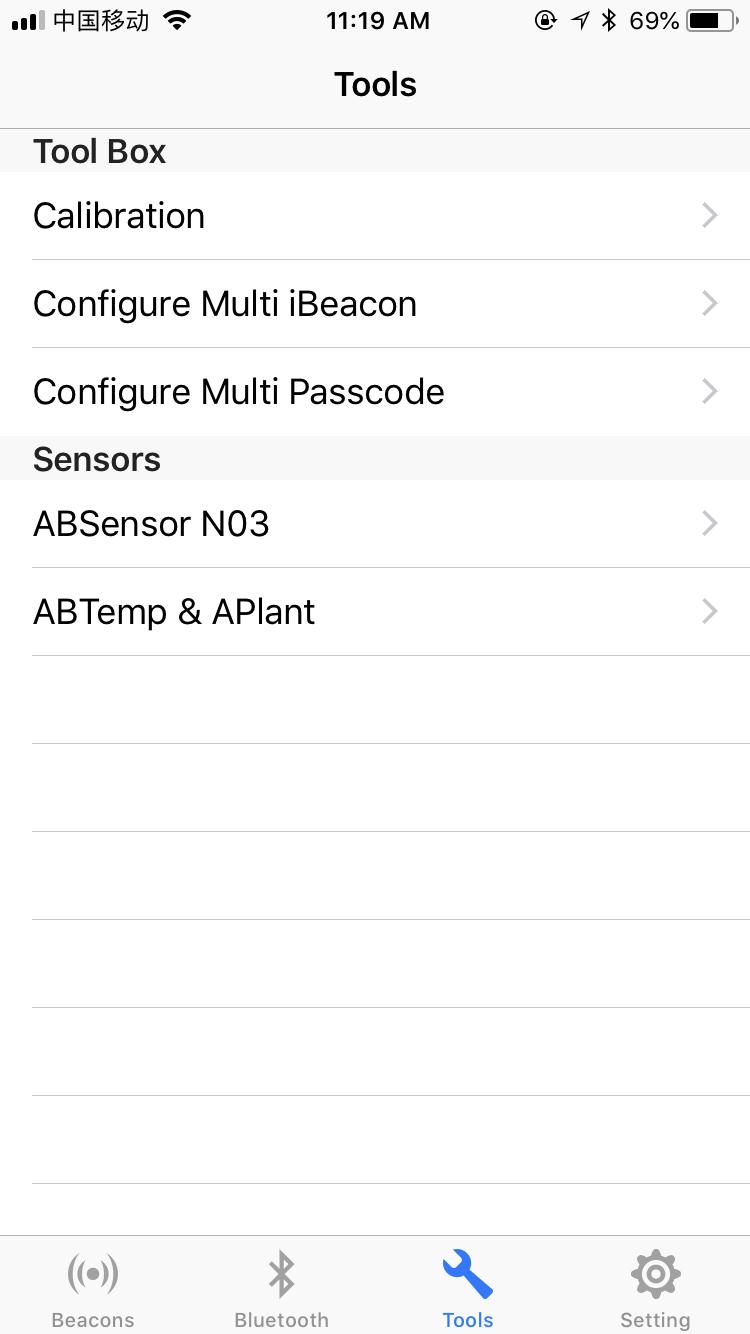 Temperature/Humidity/Light sensors iBeacon Eddystone URL /UID module ABSensor N03