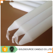 stick shape decoration wax candle for home lighting