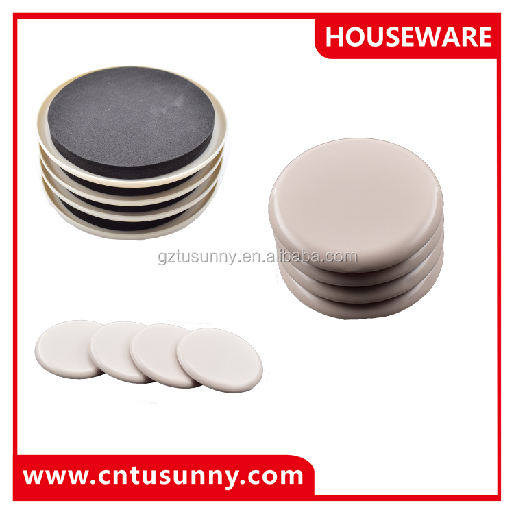 furniture sliding foot pad plastic chair glide