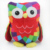 Lovely Cute Colorful owl stuffed toy