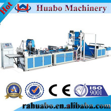 High output Huabo 2012 bag making machinery,3 side gusset nonwoven bag making machine,3 side seal bag machine